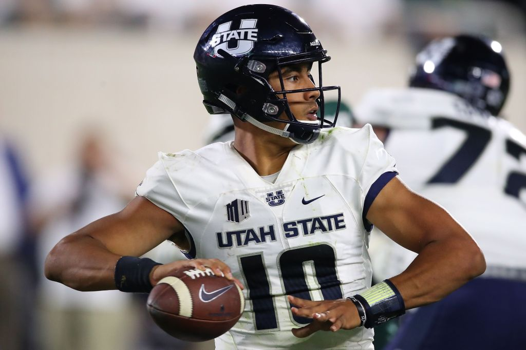 Jordan Love is the greatest QB in Utah State history (sorry Chuckie Keeton).